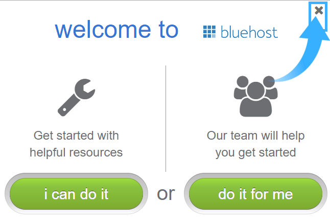 10.1 I can do it bluehost