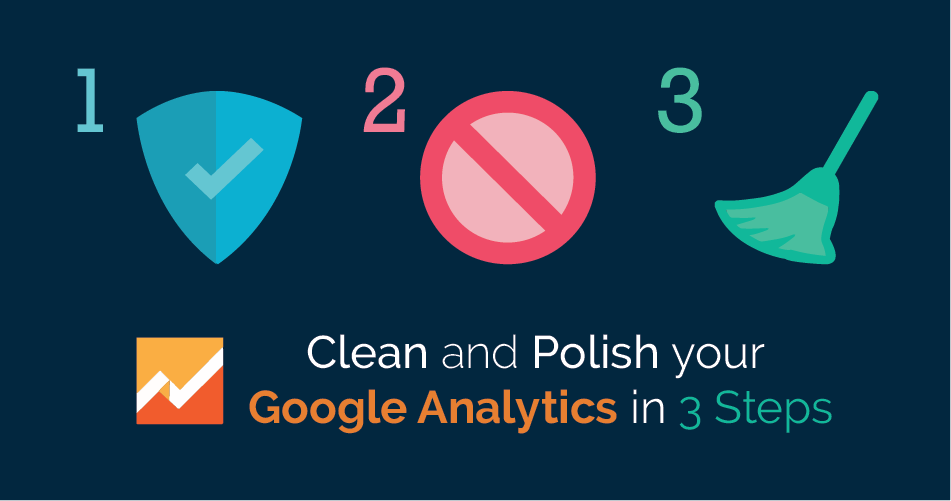 Cleaning and Polishig Google Analytics in 3 steps