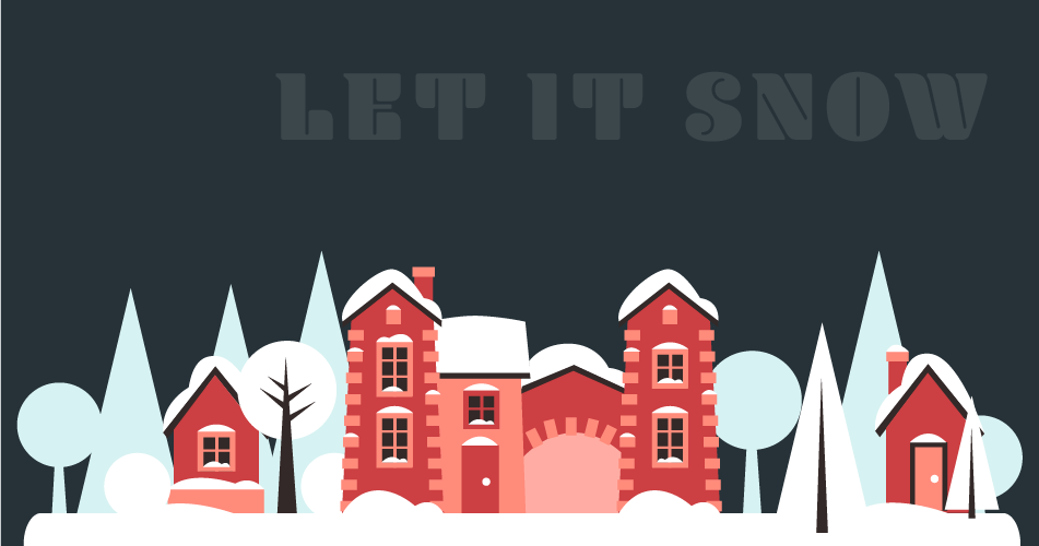 Create a snow effect with CSS animation