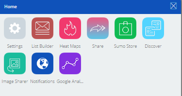 SumoMe installed apps