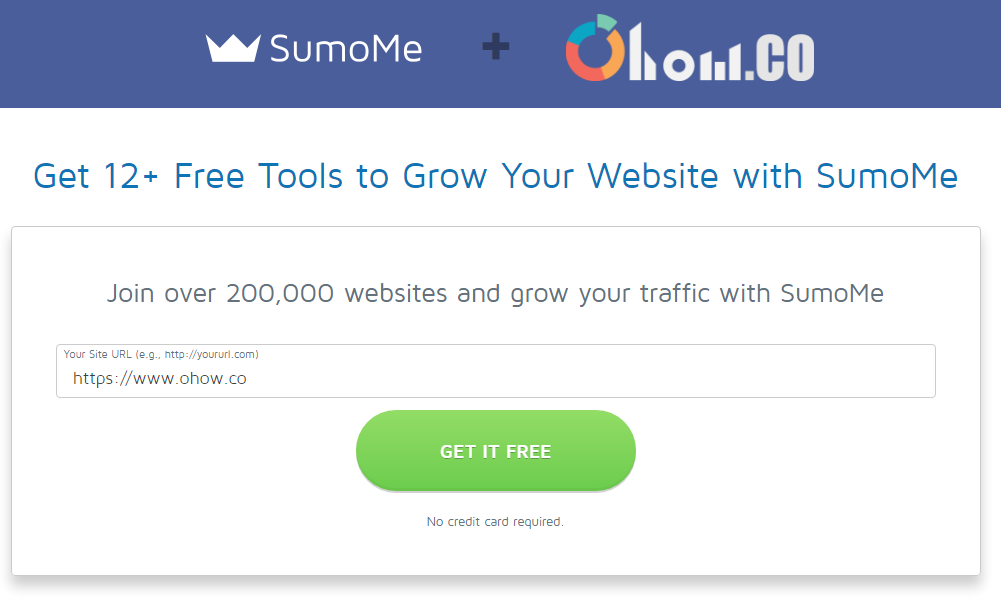 Sumome Get it Free - Site URL